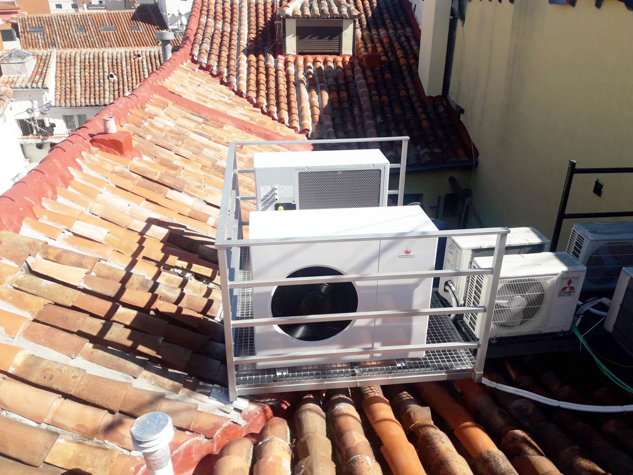 Instalación Sistemas de Climatización en Cálamo Guesthouse